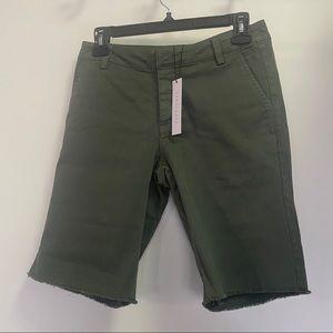 Anthropologie Sanctuary Shorts Green Size 25